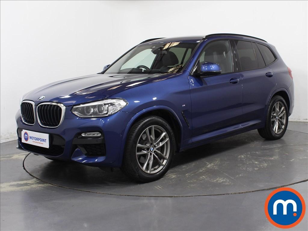 BMW X3 M Sport - Stock Number 1093566 Passenger side front corner