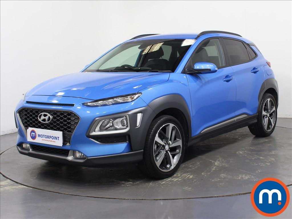 Hyundai Kona Premium - Stock Number 1096600 Passenger side front corner