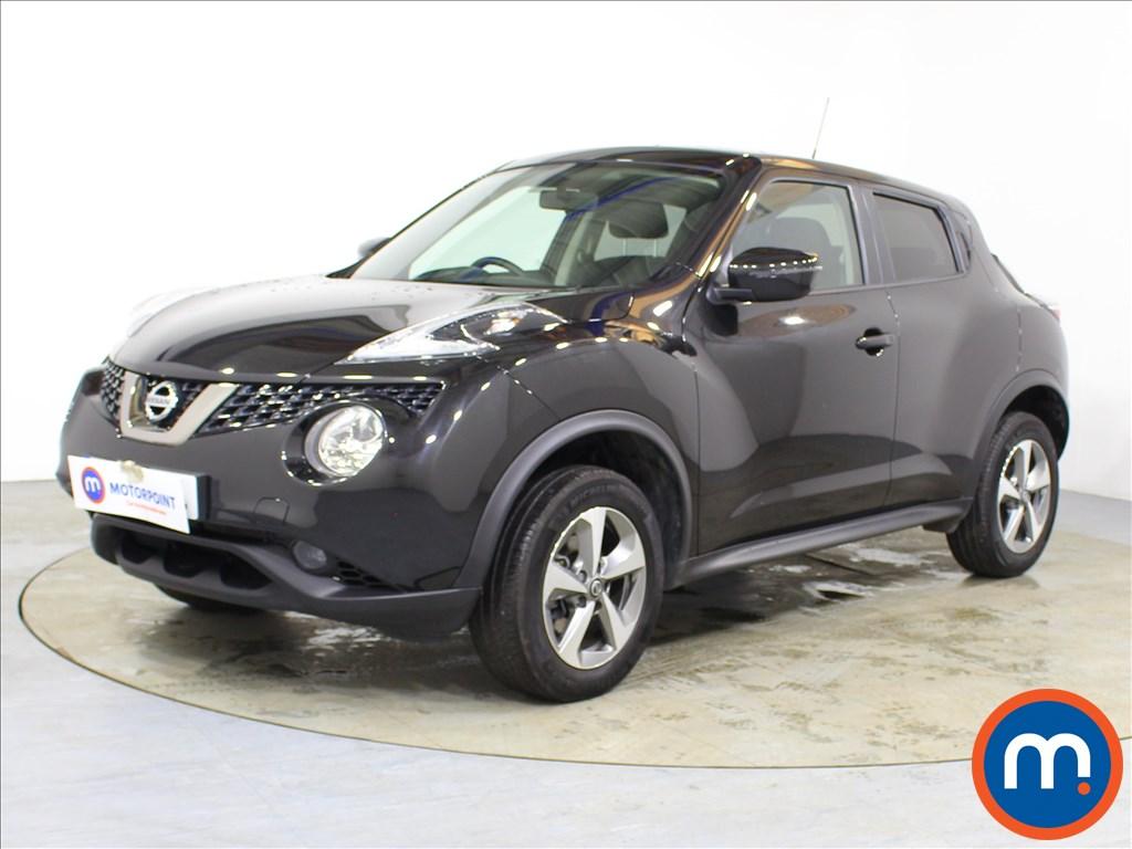 Nissan Juke Acenta - Stock Number 1093309 Passenger side front corner