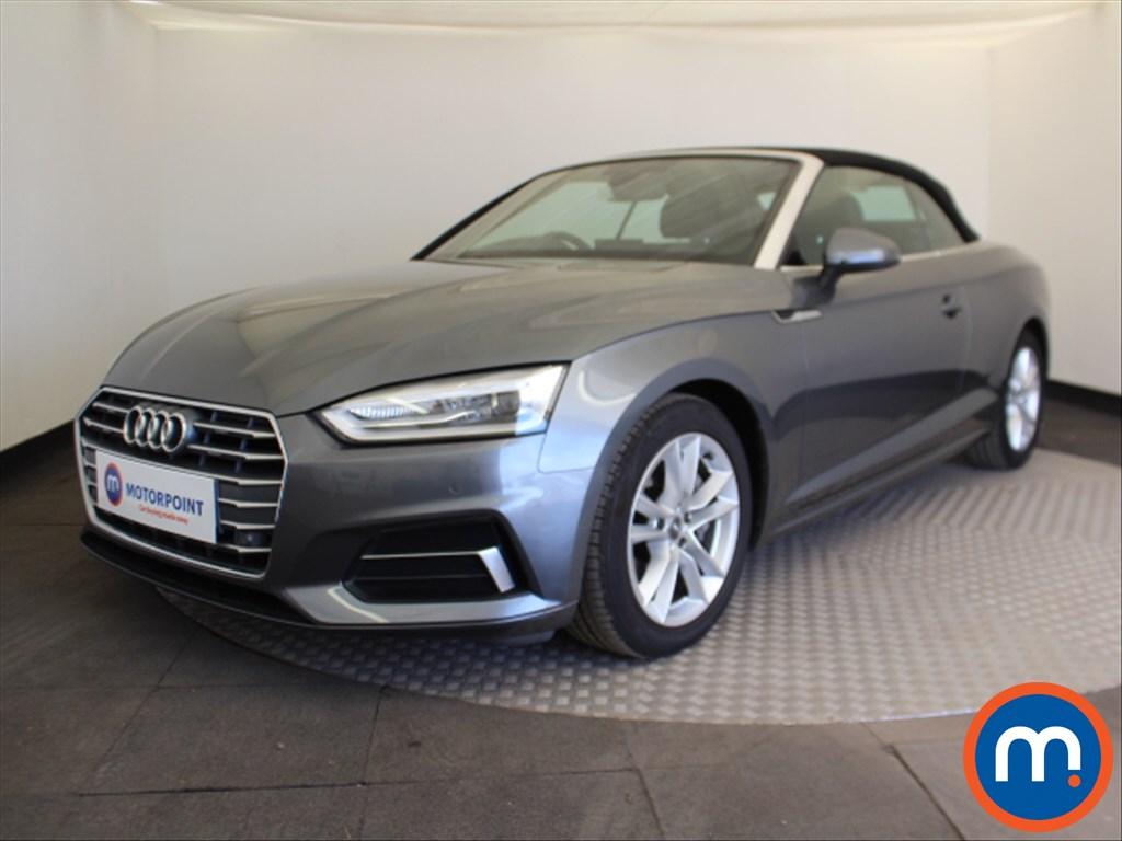 Audi A5 Sport - Stock Number 1097053 Passenger side front corner