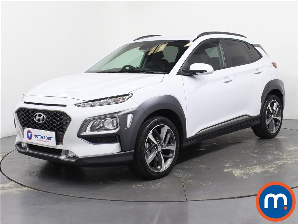 Hyundai Kona Premium - Stock Number 1097153 Passenger side front corner