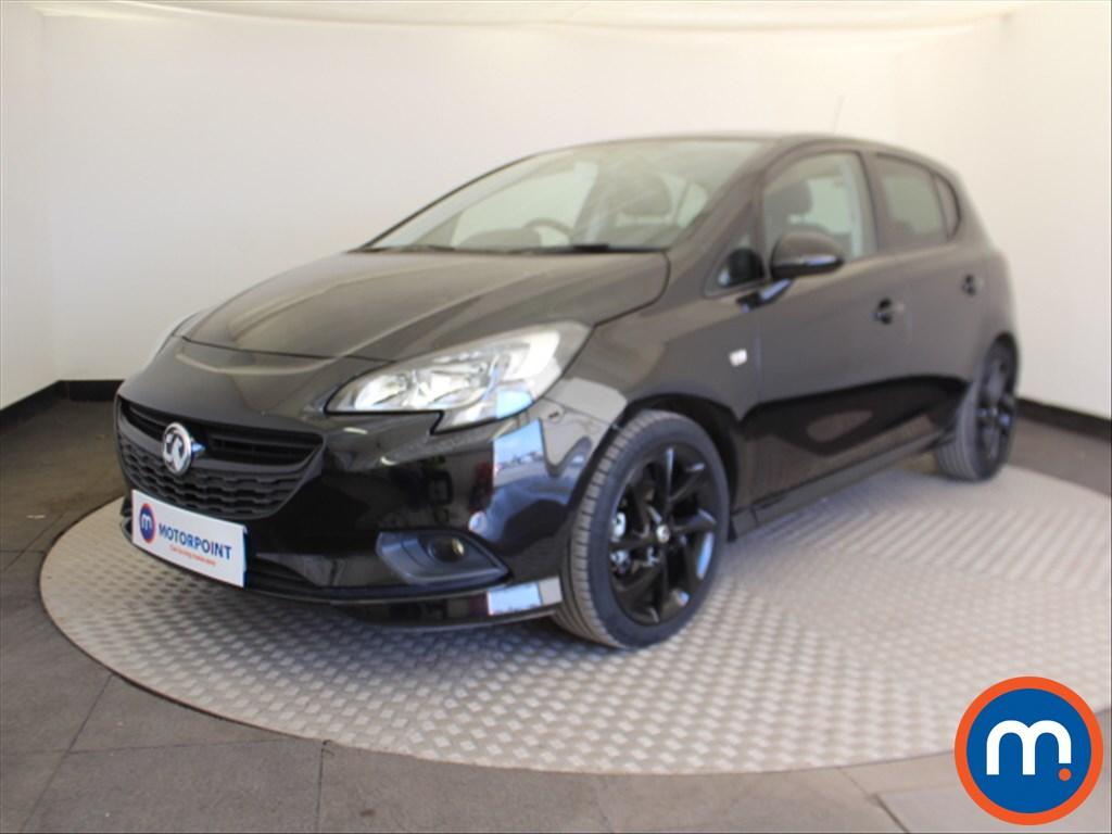 Vauxhall Corsa SRi Vx-line Nav Black - Stock Number 1095991 Passenger side front corner