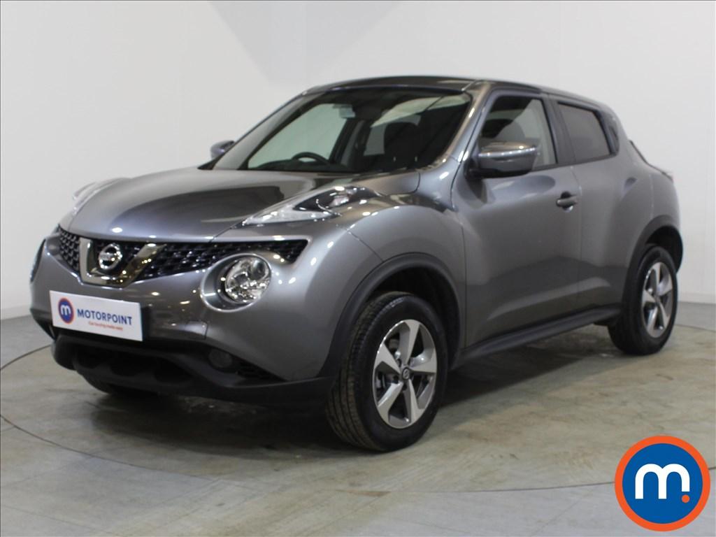 Nissan Juke Acenta - Stock Number 1098234 Passenger side front corner