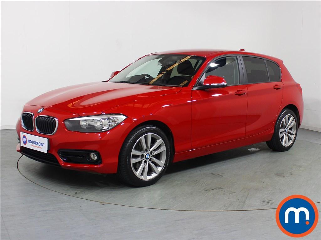 BMW 1 Series Sport - Stock Number 1098074 Passenger side front corner