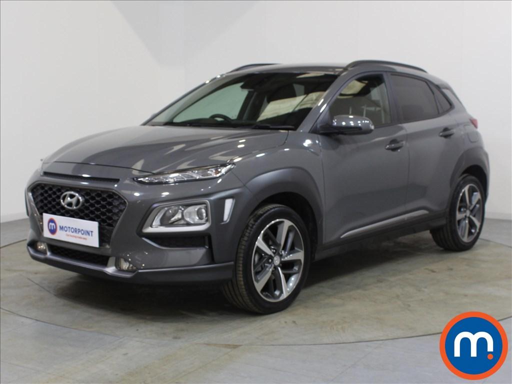 Hyundai Kona Premium - Stock Number 1100319 Passenger side front corner