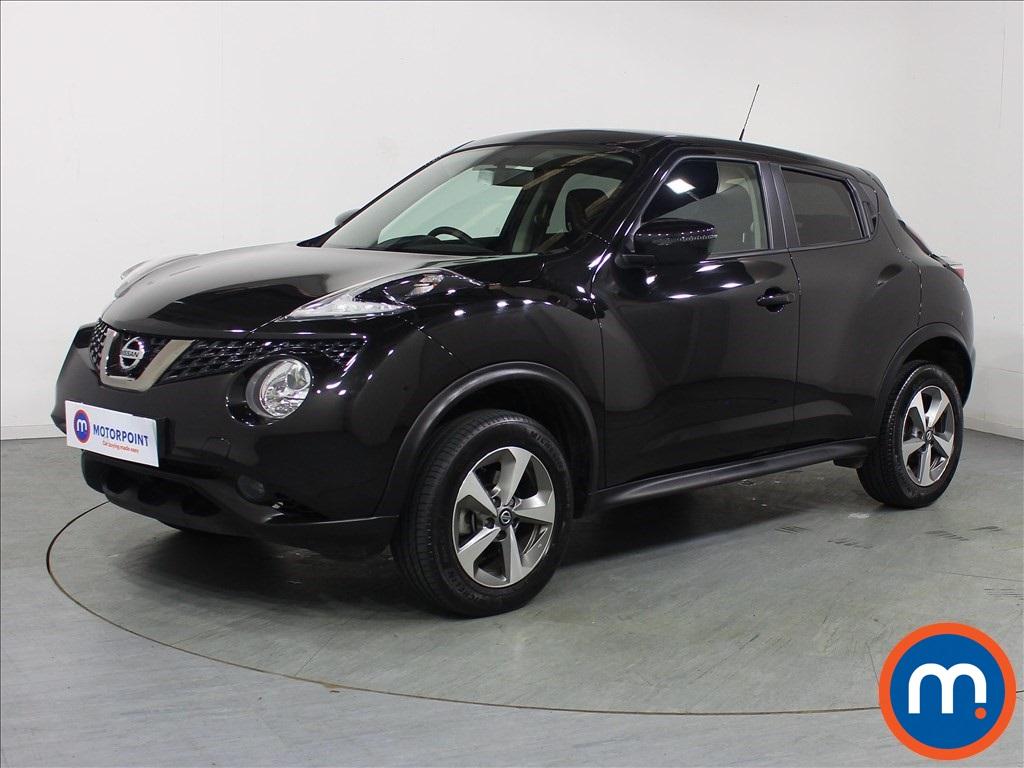 Nissan Juke Acenta - Stock Number 1098259 Passenger side front corner