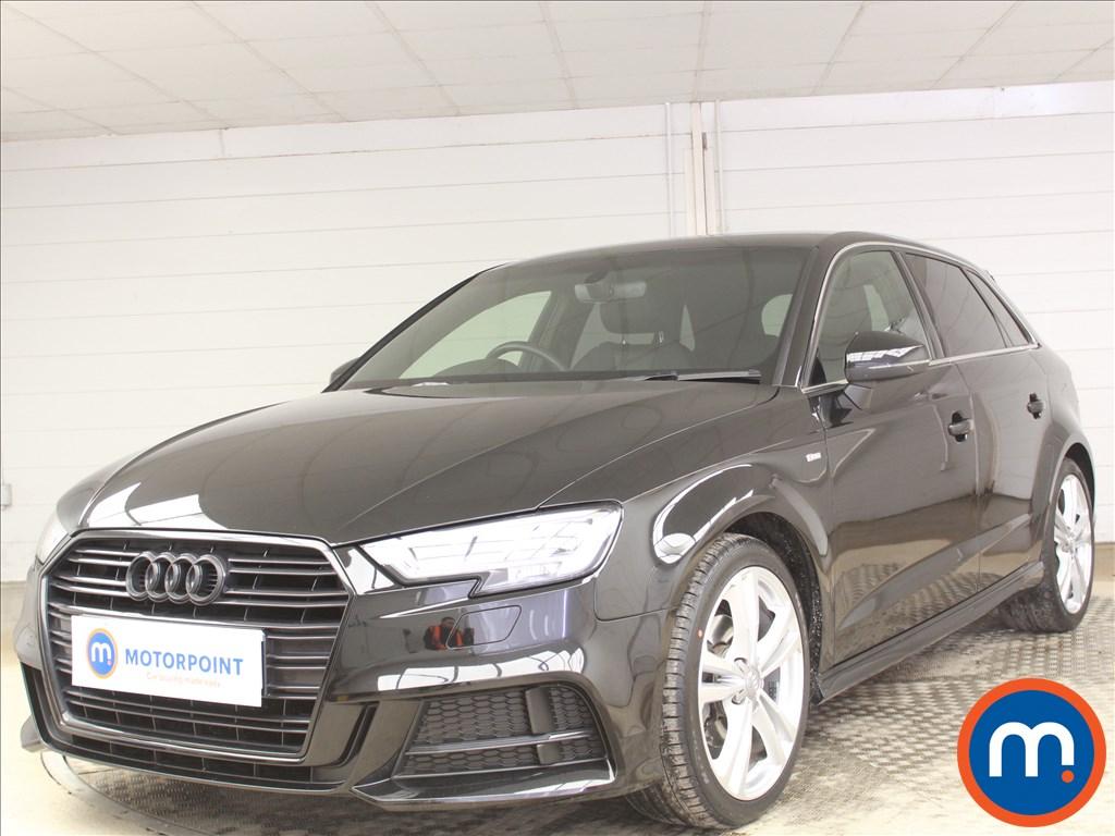 Audi A3 S Line - Stock Number 1100234 Passenger side front corner