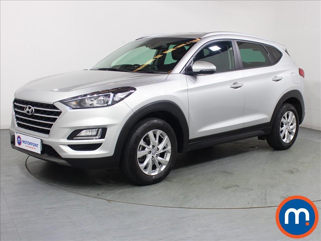 Hyundai Tucson SE Nav - Stock Number 1098771 Passenger side front corner