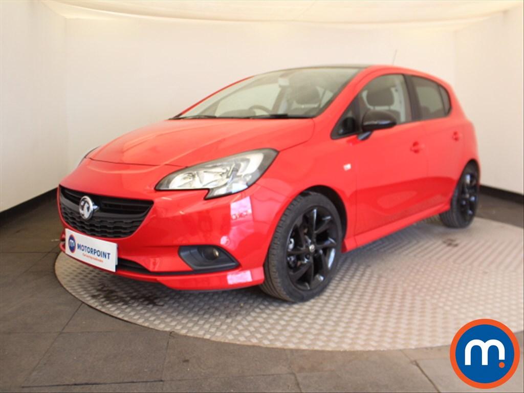 Vauxhall Corsa SRi Vx-line Nav Black - Stock Number 1095973 Passenger side front corner