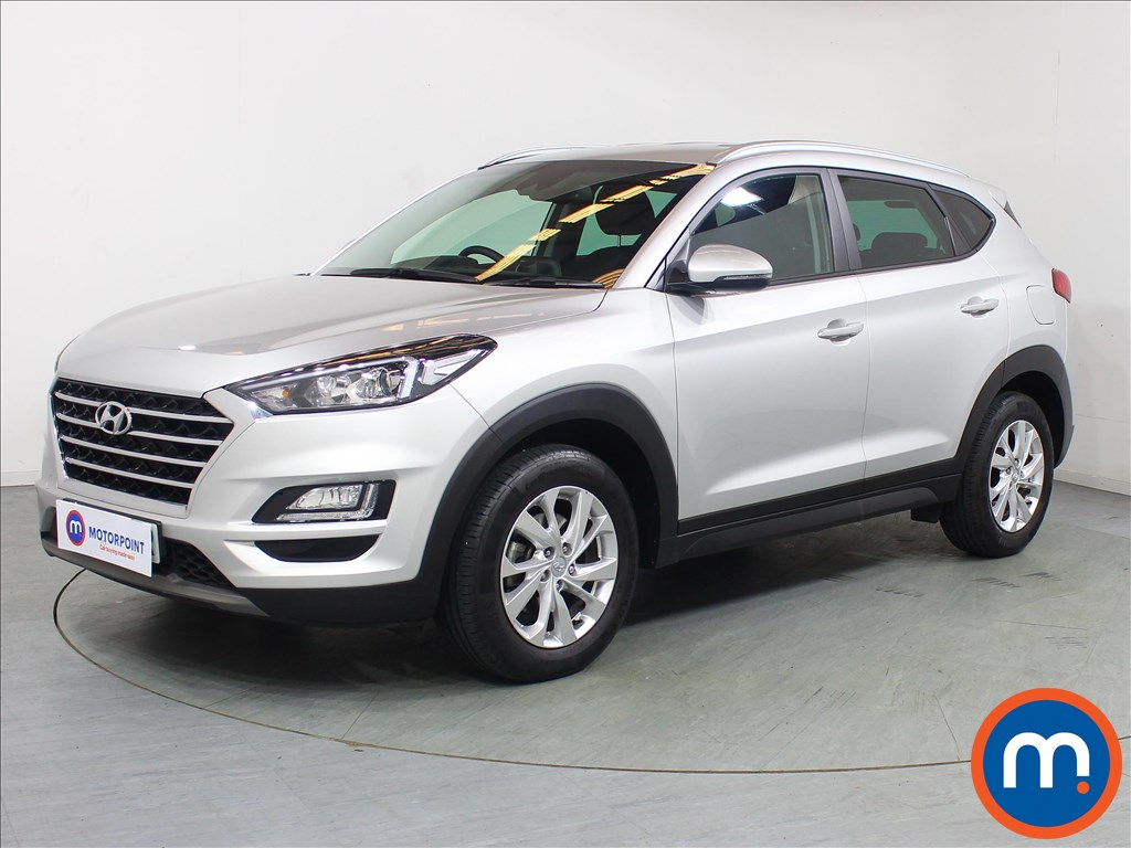 Hyundai Tucson SE Nav - Stock Number 1099681 Passenger side front corner