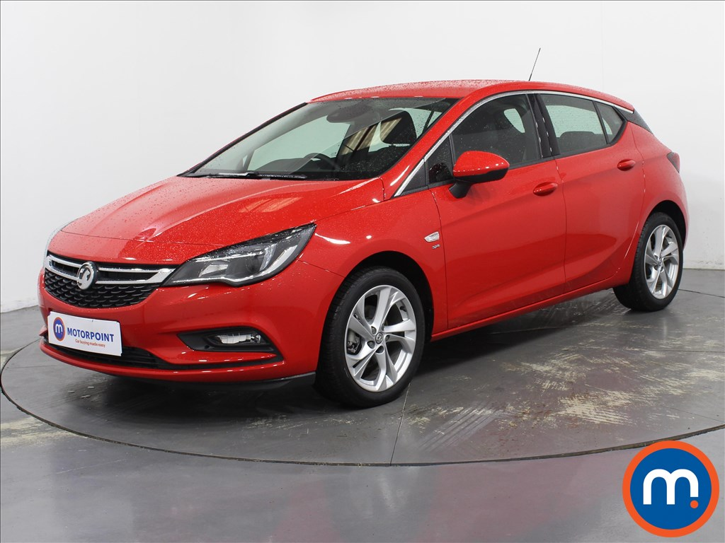 Vauxhall Astra SRi - Stock Number 1098206 Passenger side front corner
