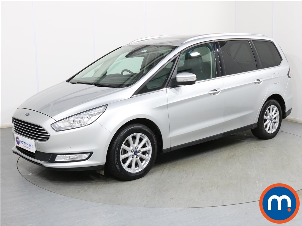 Ford Galaxy 2.0 EcoBlue 150 Titanium X 5dr - Stock Number 1093638 Passenger side front corner
