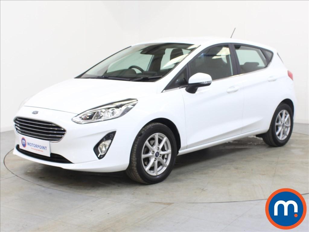 Ford Fiesta Zetec - Stock Number 1098906 Passenger side front corner