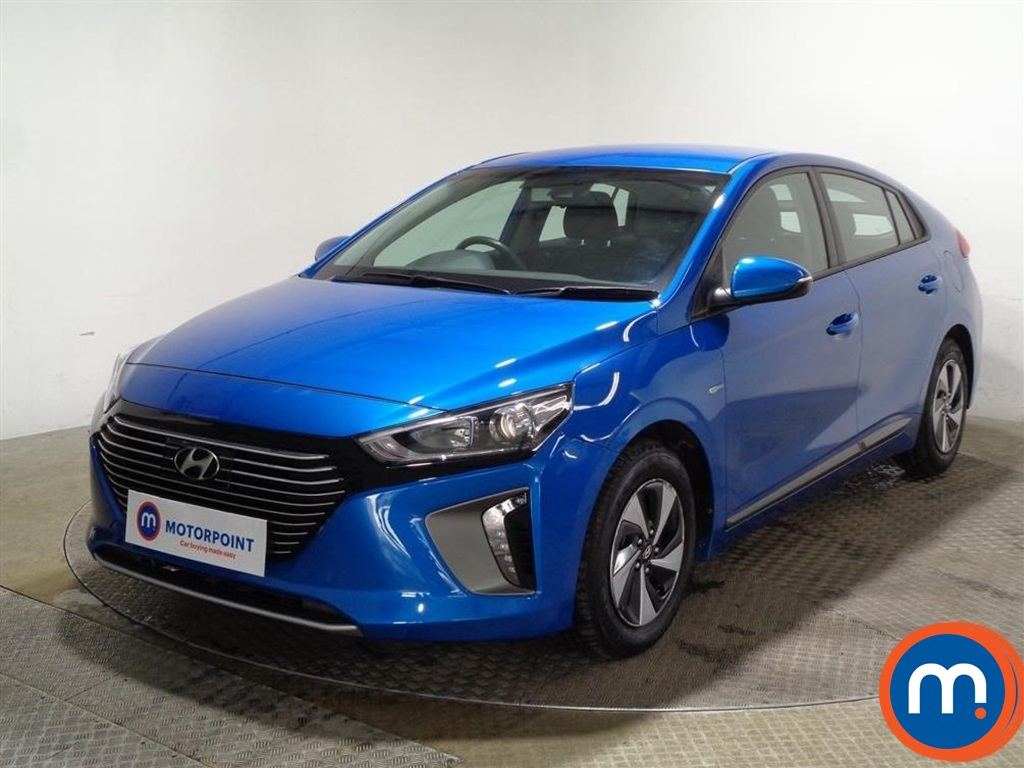 Hyundai Ioniq SE - Stock Number 1080058 Passenger side front corner