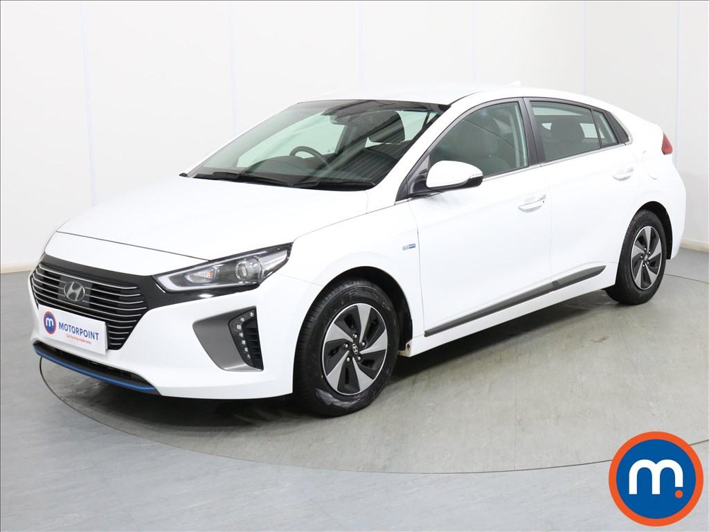 Hyundai Ioniq Premium - Stock Number 1087859 Passenger side front corner