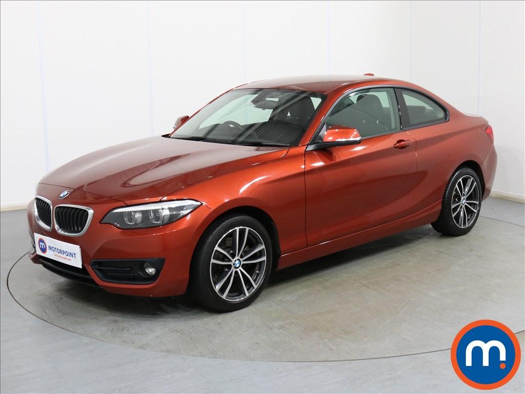 BMW 2 Series Sport - Stock Number 1099437 Passenger side front corner