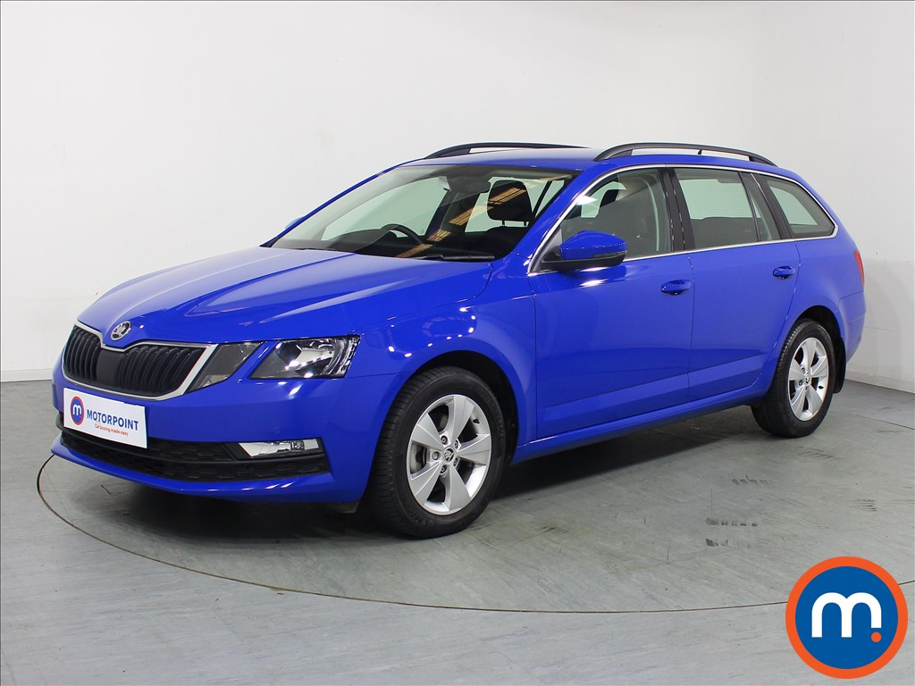 Skoda Octavia SE Technology - Stock Number 1100426 Passenger side front corner