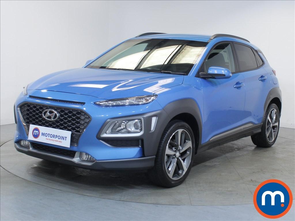 Hyundai Kona Premium - Stock Number 1100452 Passenger side front corner
