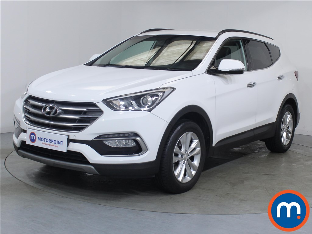 Hyundai Santa Fe Premium - Stock Number 1097709 Passenger side front corner
