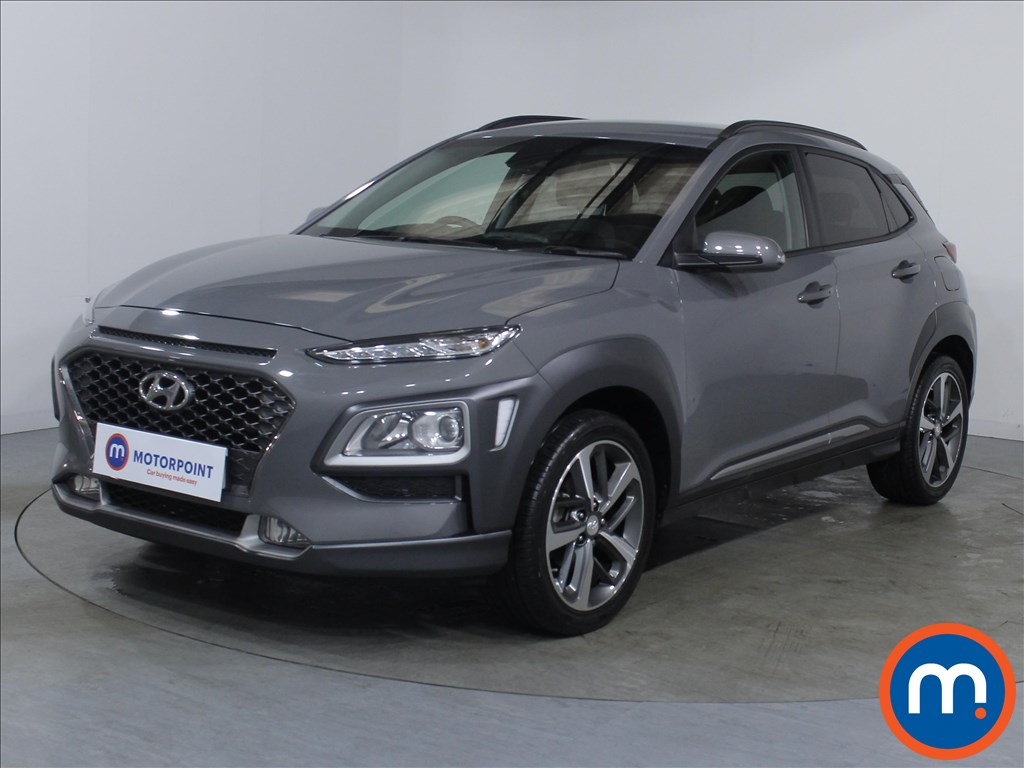 Hyundai Kona Premium - Stock Number 1100453 Passenger side front corner