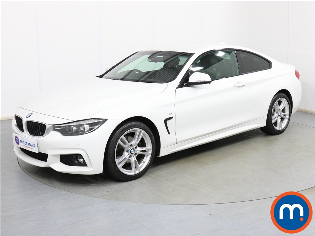 BMW 4 Series M Sport - Stock Number 1097054 Passenger side front corner