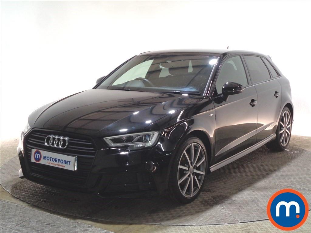 Audi A3 Black Edition - Stock Number 1093314 Passenger side front corner