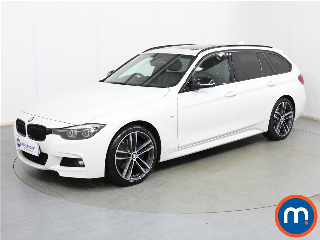 BMW 3 Series M Sport Shadow Edition - Stock Number 1096790 Passenger side front corner