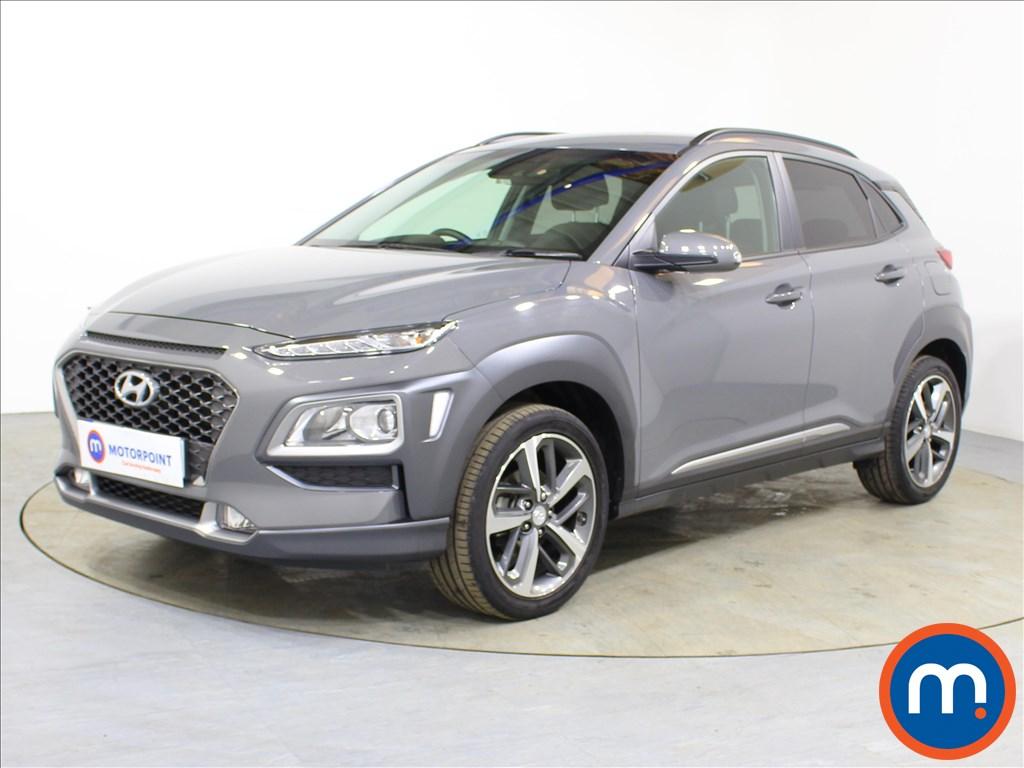Hyundai Kona Premium - Stock Number 1095125 Passenger side front corner
