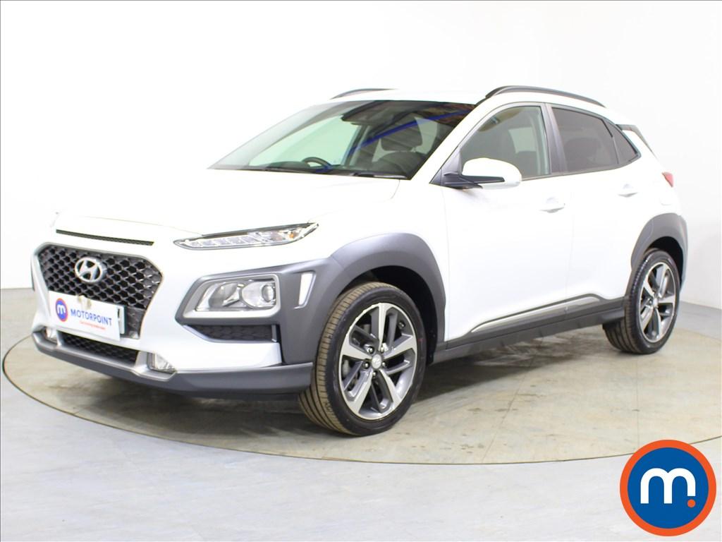 Hyundai Kona Premium - Stock Number 1100325 Passenger side front corner