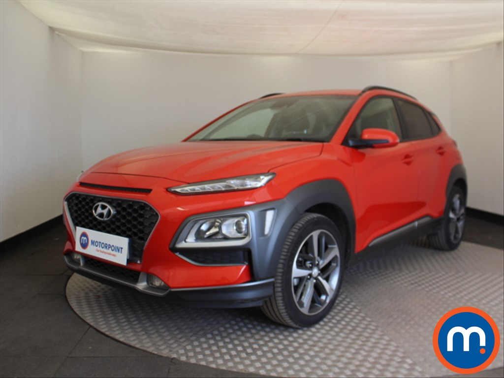 Hyundai Kona Premium - Stock Number 1098665 Passenger side front corner