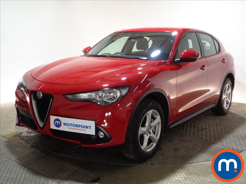 Alfa Romeo Stelvio Super - Stock Number 1089729 Passenger side front corner