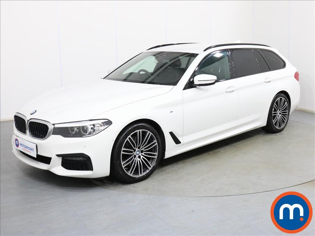 BMW 5 Series M Sport - Stock Number 1101163 Passenger side front corner