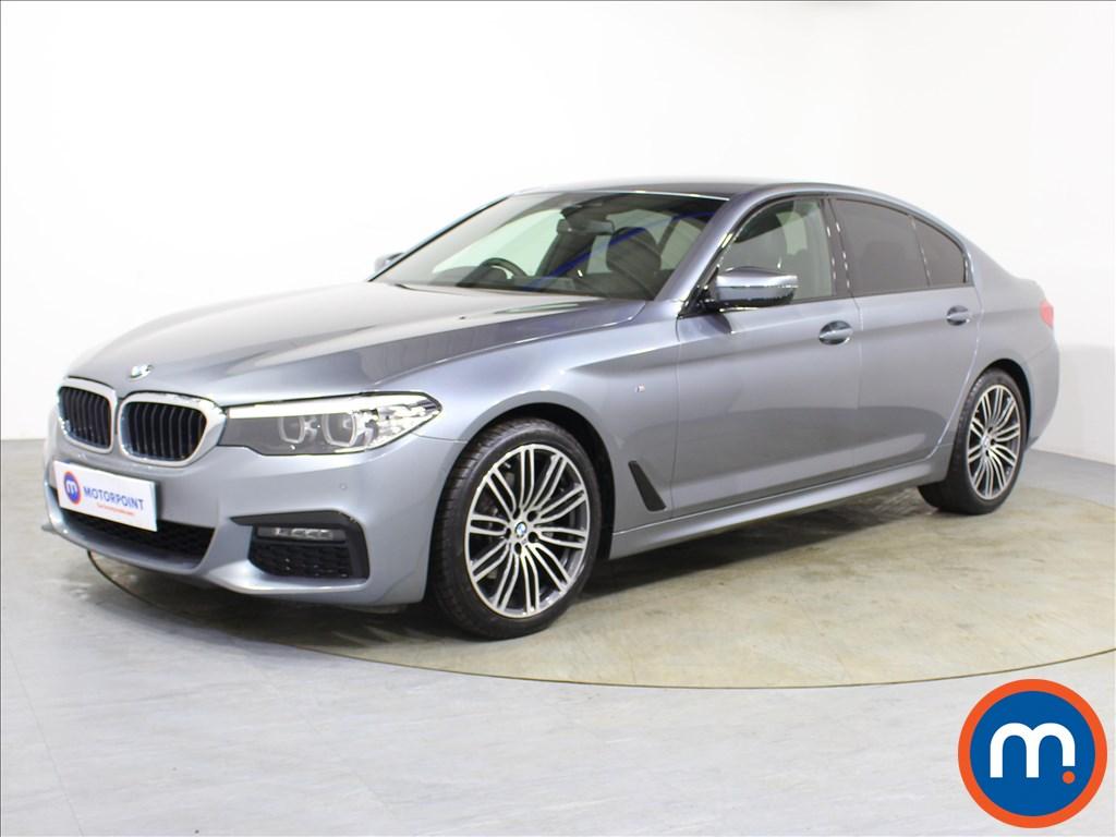 BMW 5 Series M Sport - Stock Number 1095205 Passenger side front corner