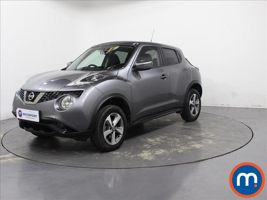 Nissan Juke Acenta - Stock Number 1092019 Passenger side front corner