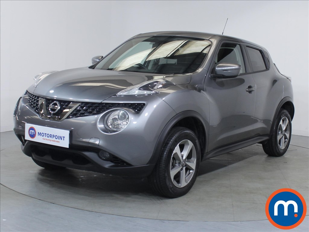Nissan Juke Acenta - Stock Number 1098240 Passenger side front corner