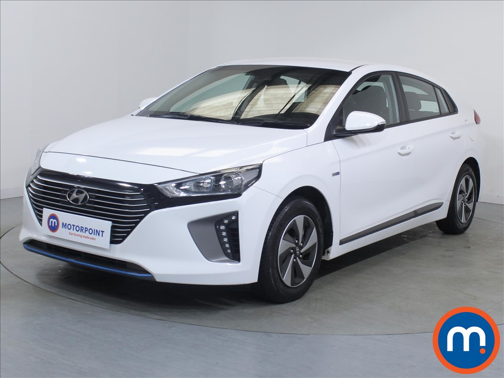 Hyundai Ioniq SE - Stock Number 1087989 Passenger side front corner