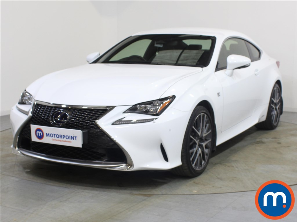 Lexus RC F-Sport - Stock Number 1099426 Passenger side front corner