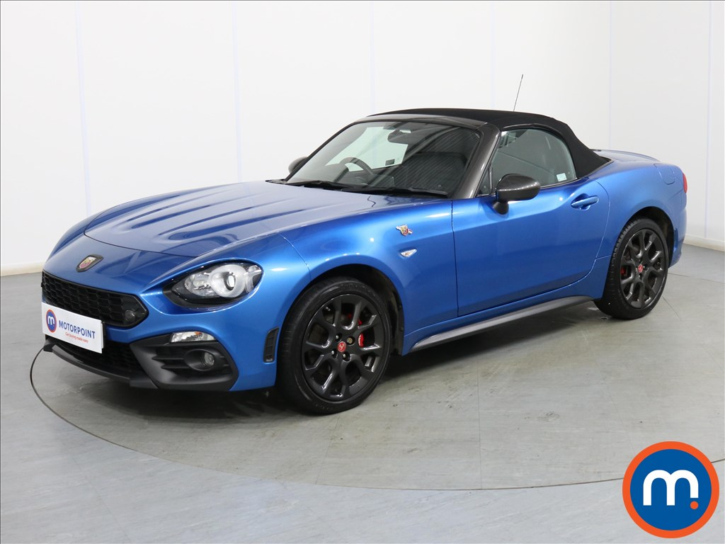 Abarth 124 Spider 1.4 T MultiAir 2dr - Stock Number 1101746 Passenger side front corner