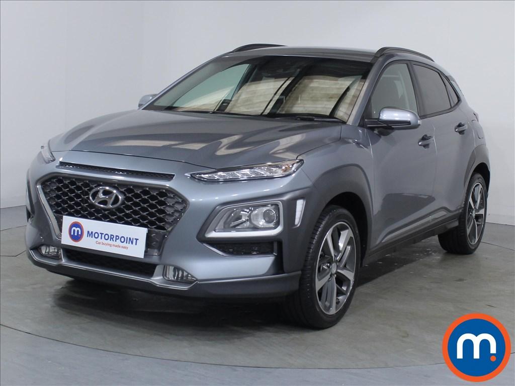 Hyundai Kona Premium - Stock Number 1101189 Passenger side front corner