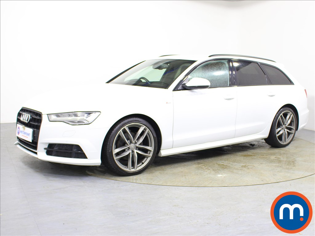 Audi A6 Black Edition - Stock Number 1095617 Passenger side front corner