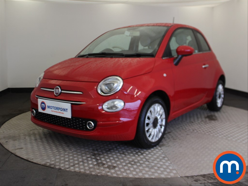 Fiat 500 Lounge - Stock Number 1098764 Passenger side front corner