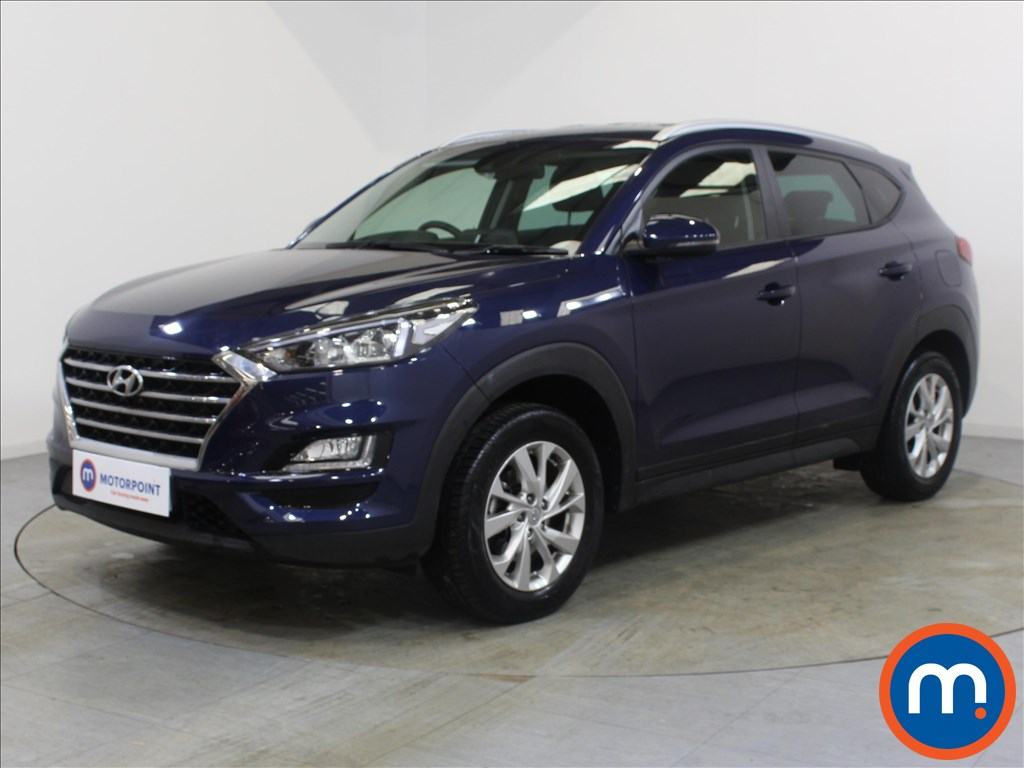 Hyundai Tucson SE Nav - Stock Number 1100337 Passenger side front corner