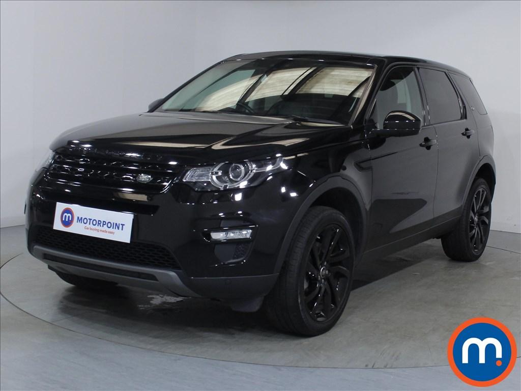 Land Rover Discovery Sport HSE Black - Stock Number 1090609 Passenger side front corner