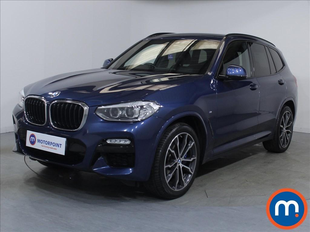 BMW X3 M Sport - Stock Number 1098077 Passenger side front corner