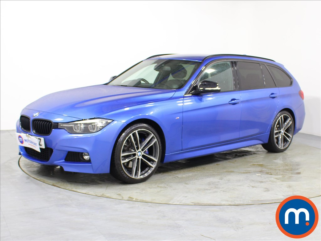 BMW 3 Series M Sport Shadow Edition - Stock Number 1096871 Passenger side front corner