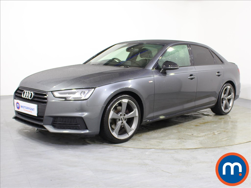 Audi A4 Black Edition - Stock Number 1095705 Passenger side front corner