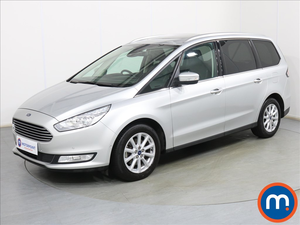 Ford Galaxy Titanium X - Stock Number 1098229 Passenger side front corner