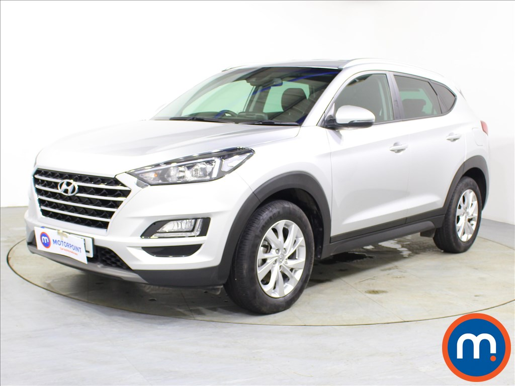 Hyundai Tucson SE Nav - Stock Number 1100857 Passenger side front corner