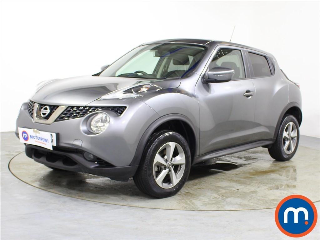 Nissan Juke Acenta - Stock Number 1093311 Passenger side front corner