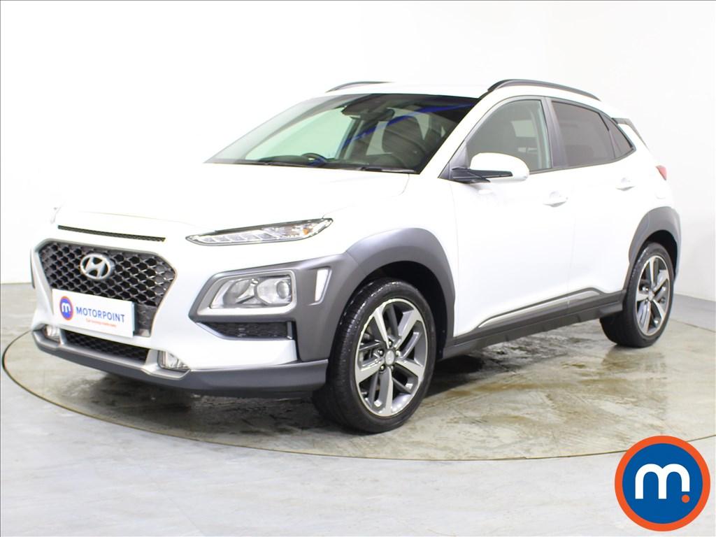 Hyundai Kona Premium - Stock Number 1100322 Passenger side front corner
